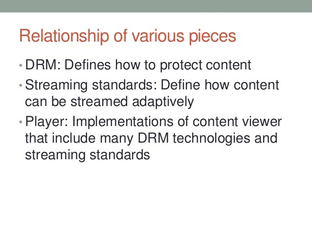 DRM Demystified For Live & VOD Streaming Media