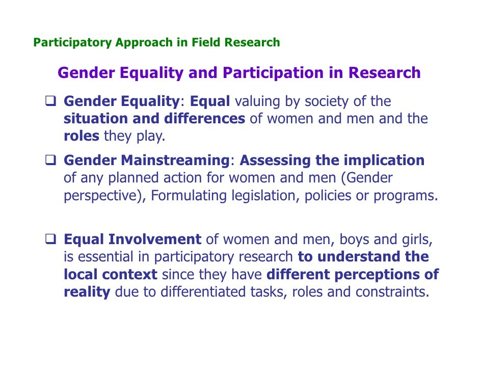 equal participation of women in all fields In education, affirmative action programs for women include grants and graduate fellowship programs aimed at helping women move into fields where their participation has been discouraged, such as engineering, math and the physical sciences they also include programs to prepare and motivate girls and women for study in non-traditional fields.
