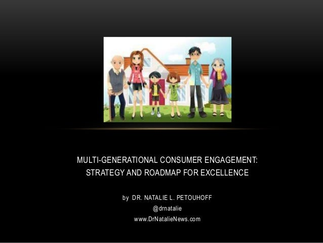 MULTI-GENERATIONAL CONSUMER ENGAGEMENT: STRATEGY AND ROADMAP FOR EXCELLENCE by DR. NATALIE L. PETOUHOFF @drnatalie www.DrN...