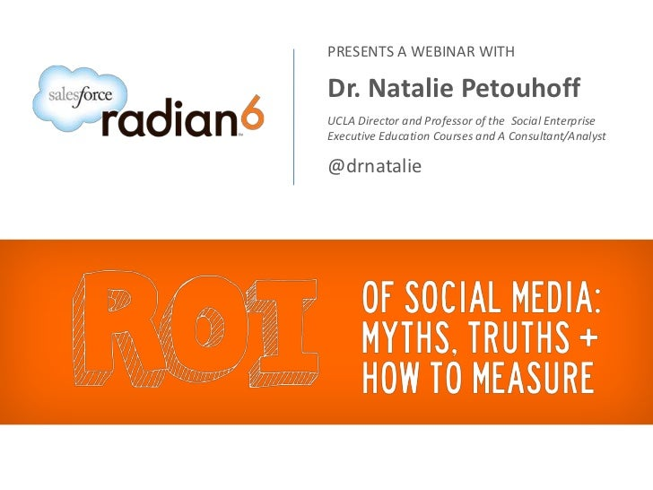 How to define an actionable social media ROI for your business