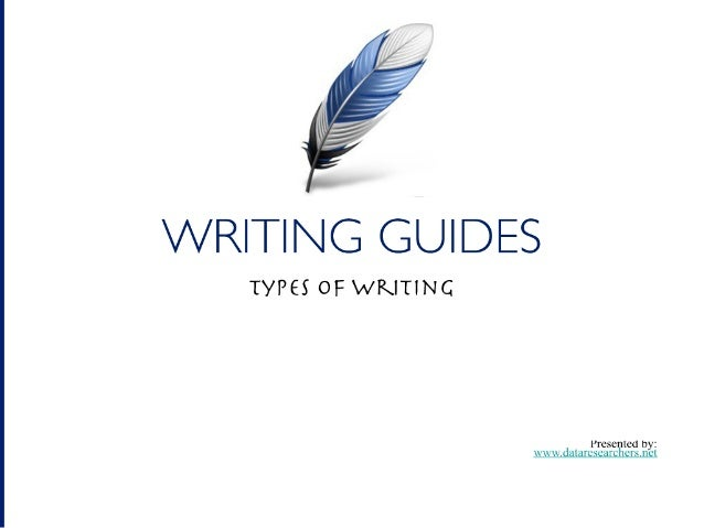 Writing Guide: 6 Most Popular Types of Writing