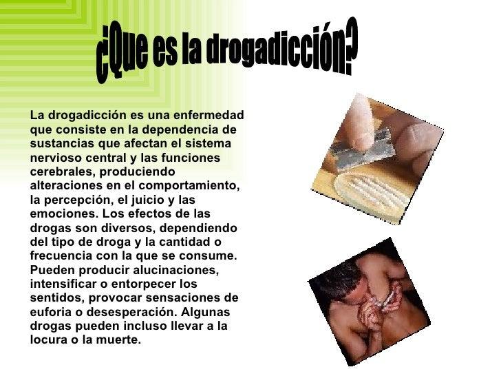 Drogadiccion Slide 2