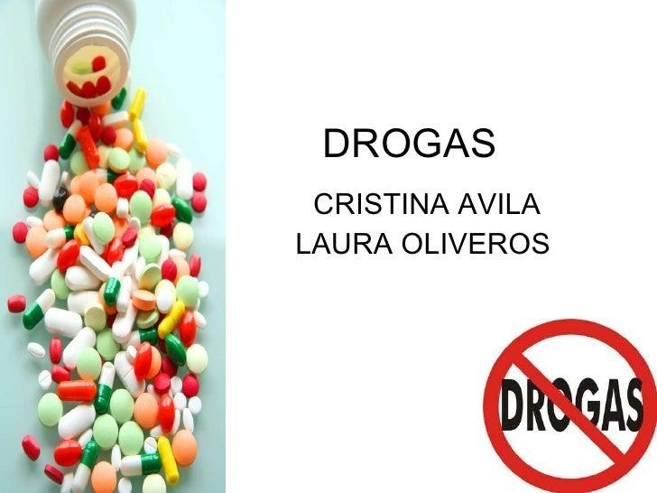 DROGAS CRISTINA AVILA LAURA OLIVEROS