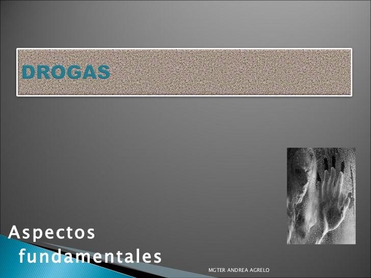 <ul><li>Aspectos fundamentales </li></ul>MGTER ANDREA AGRELO