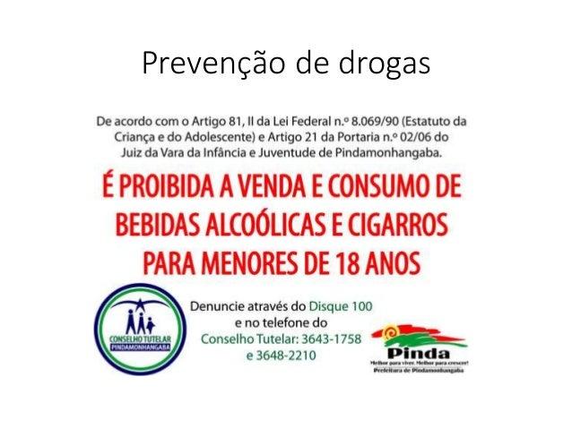 Prevenção de drogas