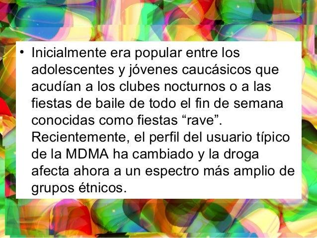 • Inicialmente era popular entre los adolescentes y jóvenes caucásicos que acudían a los clubes nocturnos o a las fiestas ...