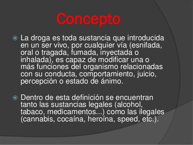 Drogas mitos y realidades Slide 2