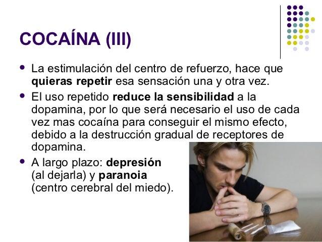 Heroína   Opiáceo usado como narcótico   Los efectos más significativos de su uso son:       Placer       Alivio del d...