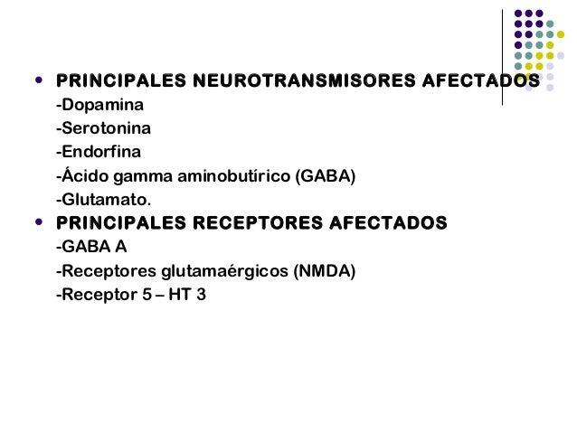 GABA en condicionesnormales   GABA almacenado en vesículas en el extremo de l axón   Con señal eléctrica se libera   Re...