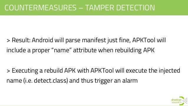 Droidcon Greece '15 - Reverse Engineering in Android