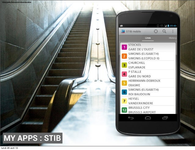 APPLICATION CONTROLE STIB IPHONE