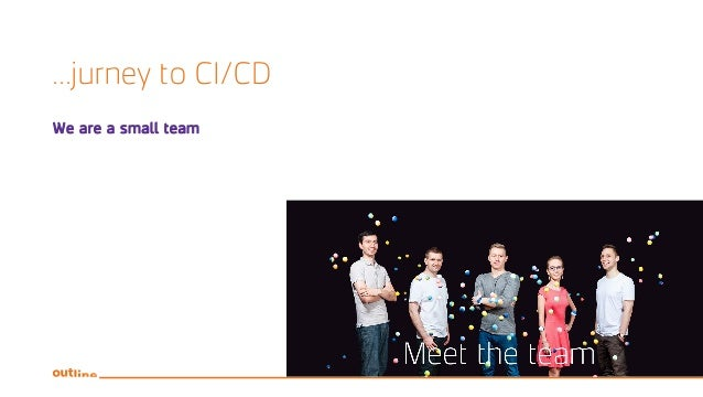 ...jurney to CI/CD We are a small team
