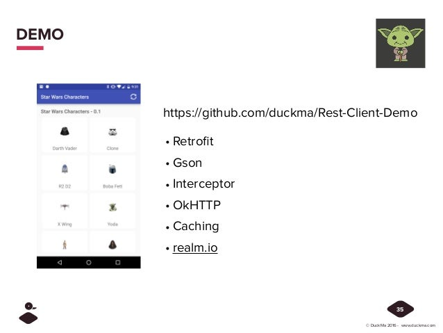 Build an efficient REST Client on Android - Droidcon IT 2016