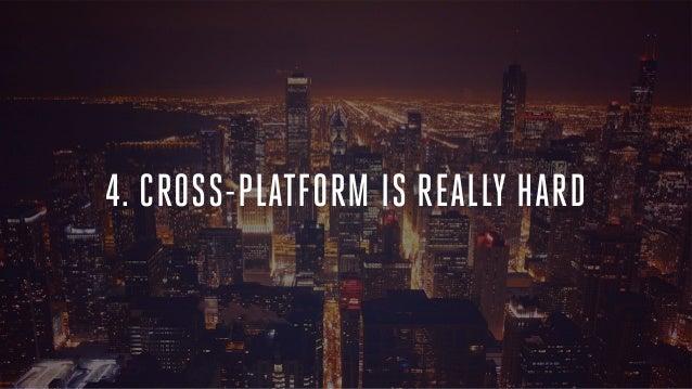 the secret to building cross platform mobile apps how the big guys d