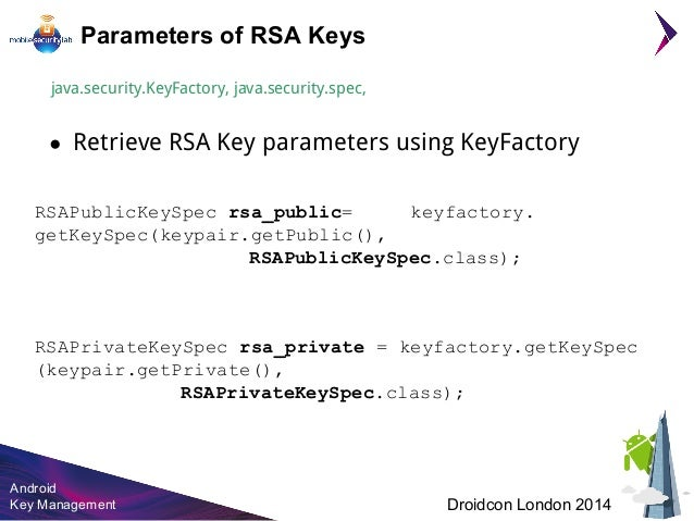 Rsa private key example java | Peatix