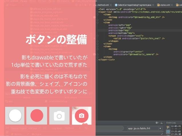 Retrofit Square製のHTTP Client インターフェイスにアノテーション を書くスタイルで読みやすい JavaDocにAPIの仕様を 記述していくと良い感じ