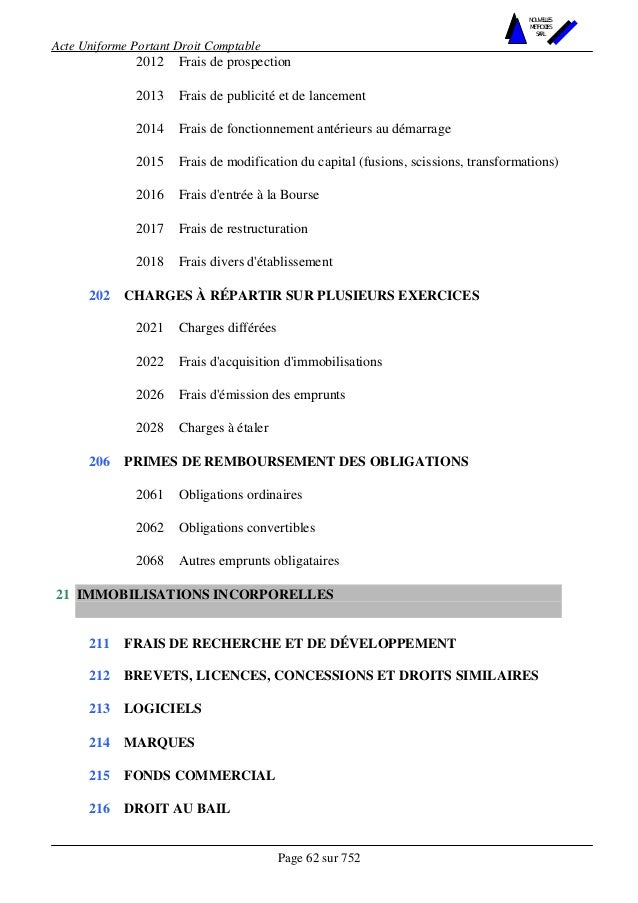 acte uniforme ohada 2014 pdf