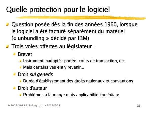 25© 2011-2013 F. Pellegrini v.20130528Question posée dès la fin des années 1960, lorsqueQuestion posée dès la fin des anné...