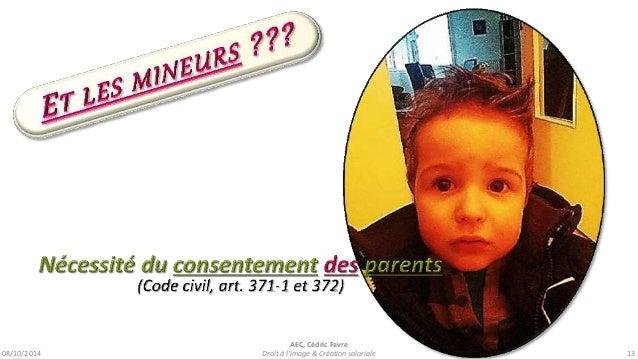 08/10/2014  AEC, Cédric Favre  Droit à l'image & Création salariale 15