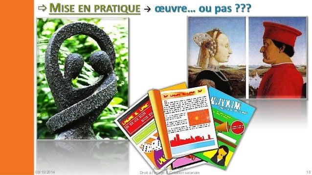08/10/2014  AEC, Cédric Favre  Droit à l'image & Création salariale 20