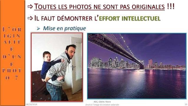 08/10/2014  AEC, Cédric Favre  Droit à l'image & Création salariale 21