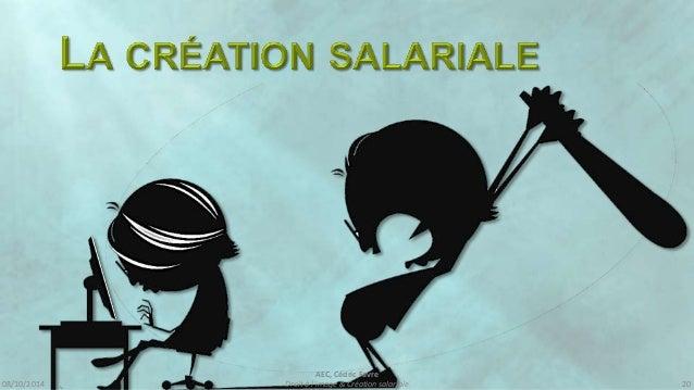 08/10/2014  AEC, Cédric Favre  Droit à l'image & Création salariale 22