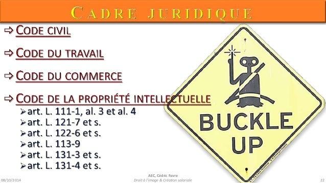 08/10/2014  AEC, Cédric Favre  Droit à l'image & Création salariale 24