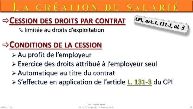 A5-Droit à l'image & création salariale