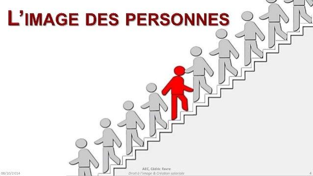 08/10/2014  AEC, Cédric Favre  Droit à l'image & Création salariale 6