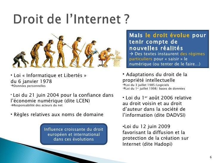 Droit De L Internet Et De L Information Complet