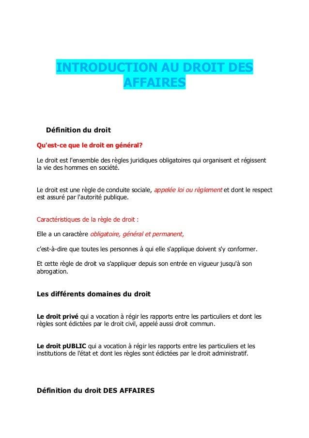 droit des affaires marocain