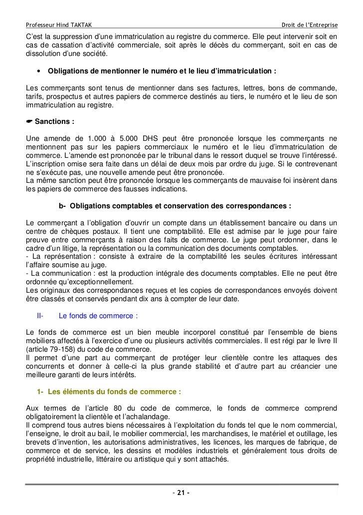 Dissertation statut juridique enterprise