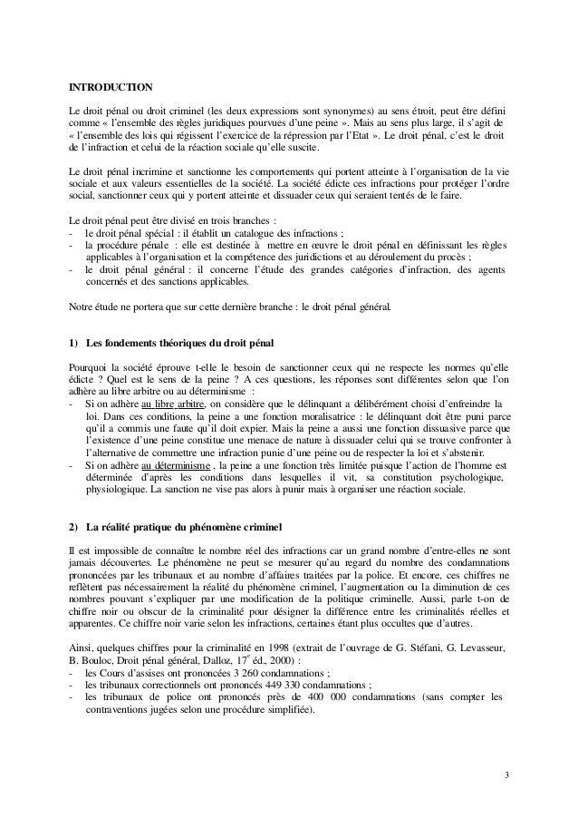 Droit penal general Slide 3