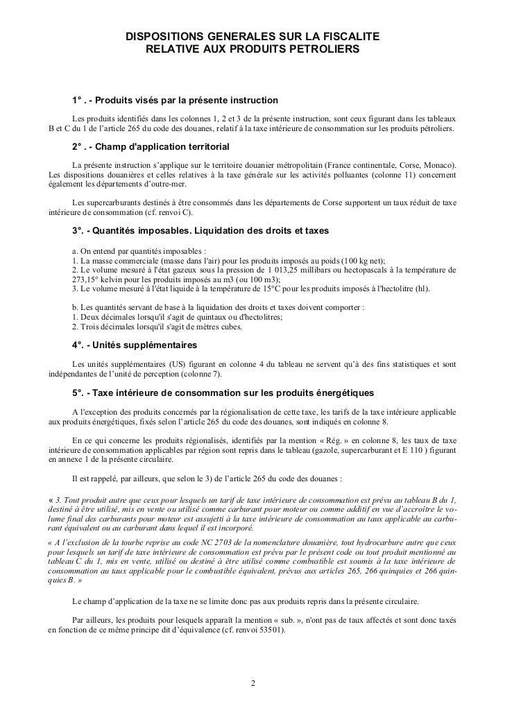 Droits taxes-produits-energie-juillet 2011 dgddi Slide 2