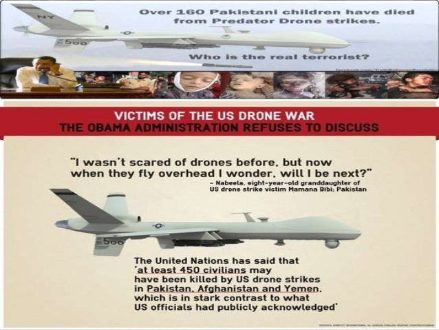 Drone attack's & their Reaction.