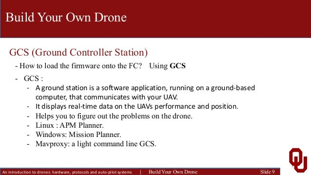 An introduction to drones: hardware, protocols and auto-pilot systems