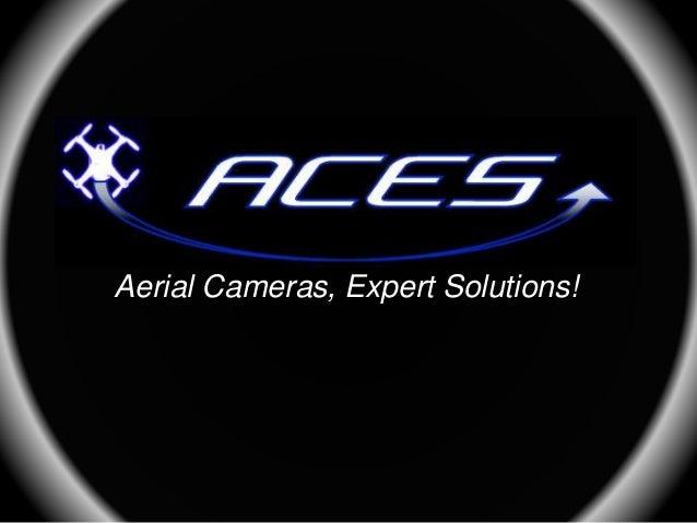 Aerial Cameras, Expert Solutions!