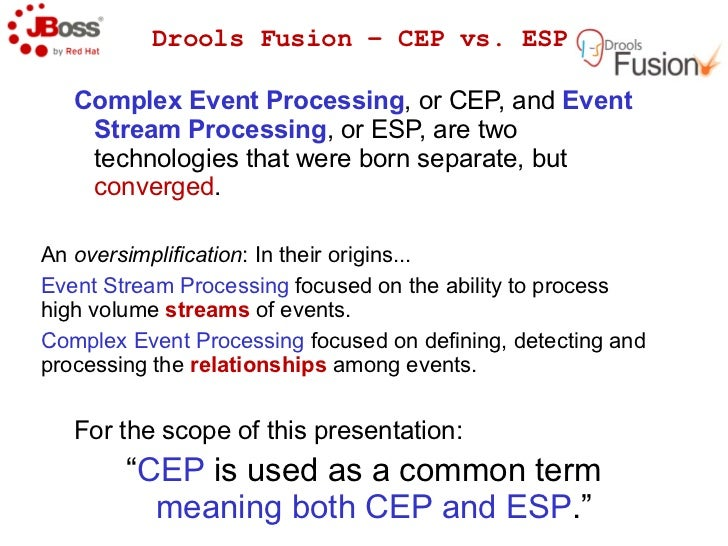 JBoss Drools and Drools Fusion (CEP): Making Business Rules