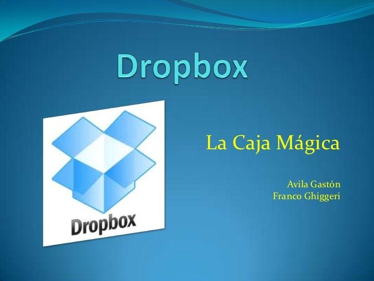La Caja Mágica         Avila Gastón      Franco Ghiggeri