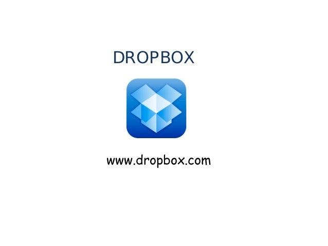 DROPBOX  www.dropbox.com