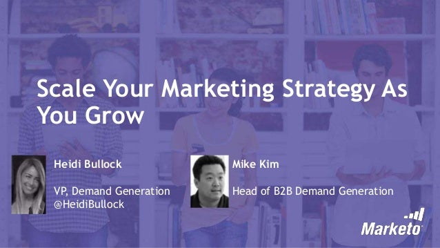 Scale Your Marketing Strategy As You Grow