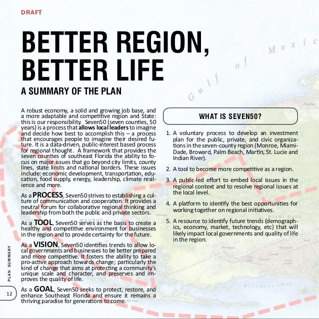 The Southeast Florida Region is facing many challenges: ag- ing infrastructure, unbalanced mobility, increasing congestion...