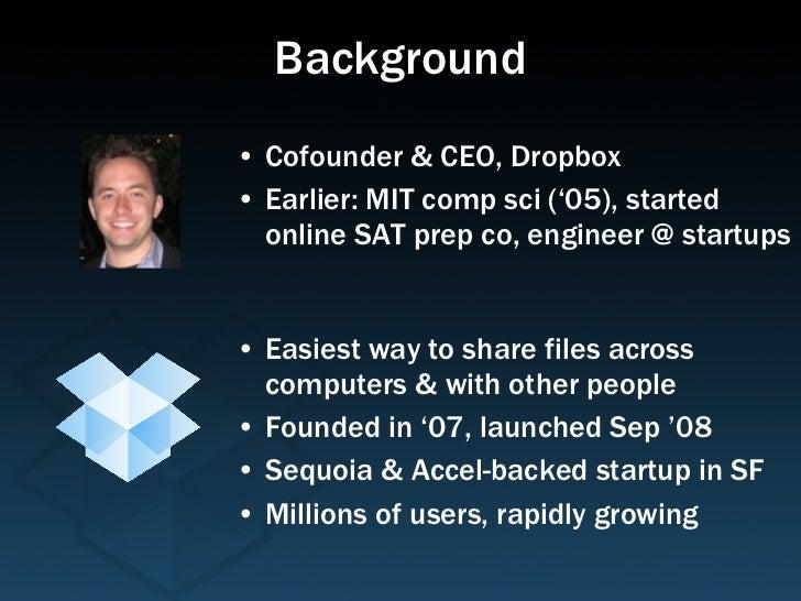 Dropbox Startup Lessons Learned Slide 2