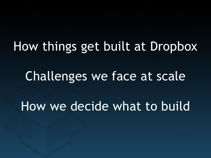 Dropbox   startup lessons learned 2011 Slide 2