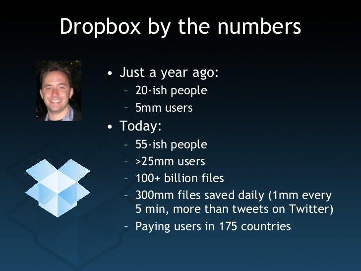 Dropbox   startup lessons learned 2011 Slide 3