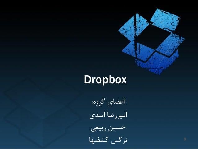 Dropbox ٍُگش اعضای: اسذی اهیشسضا ستیعی حسیي کطفیْا ًشگس 0