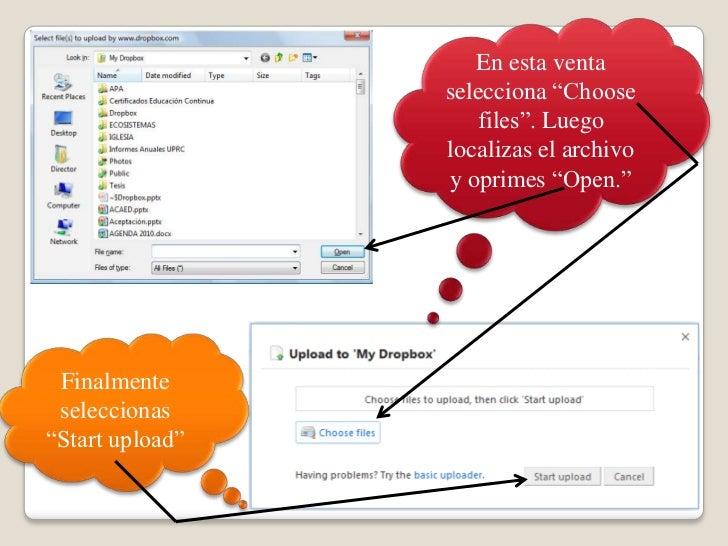 """En esta venta selecciona """"Choose files"""". Luegolocalizas el archivo y oprimes """"Open."""" <br />Finalmenteseleccionas """"Start up..."""