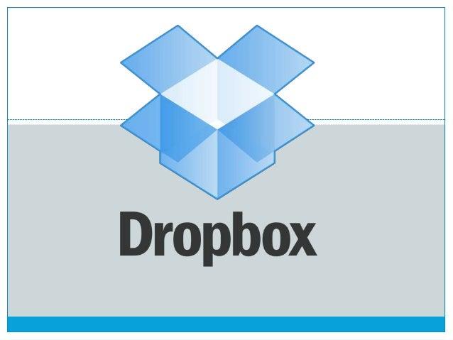 """ Dropbox é um serviço para armazenamento e partilha de arquivos. É baseado no conceito de """"computação em nuvem.Ele perten..."""