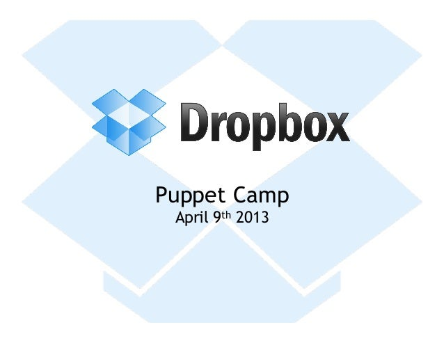 Puppet Camp April 9th 2013