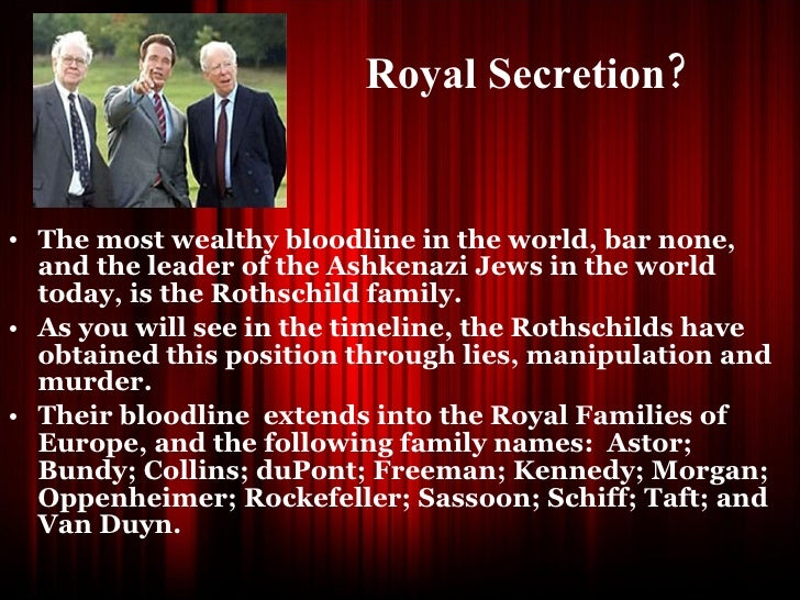 The History Of The House Of Rothschild